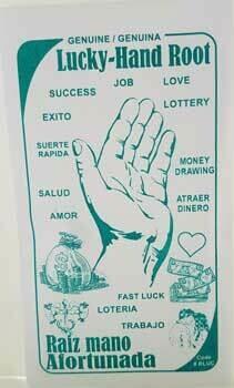 Hoodoo - Lucky Hand Root