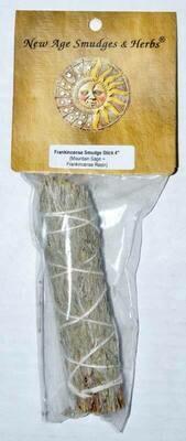 Sage - Frankincense Smudge 4