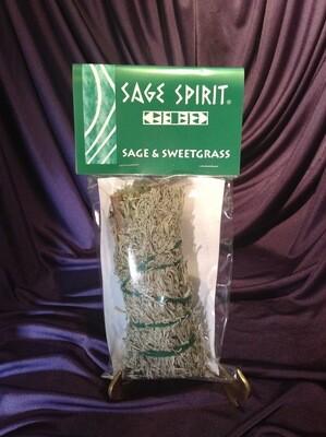 Sage - Sage & Sweetgrass ( Sage Spirit)