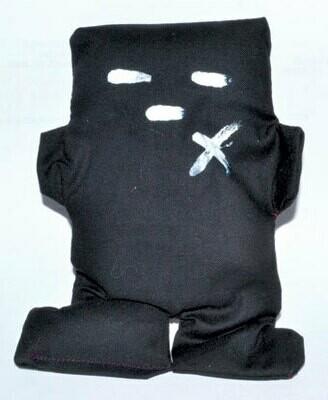 Hoodoo - Black Voodoo Doll