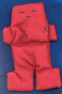 Hoodoo - Red Voodoo Doll