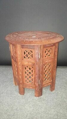 Altar Table - Large Wooden Pentacle