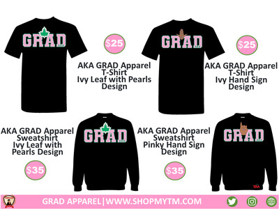 AKA GRAD Apparel Shirt