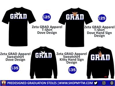 Zeta GRAD Apparel Shirt