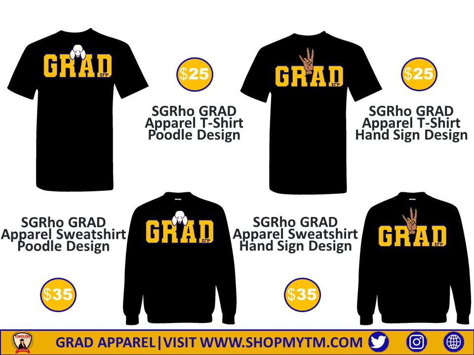 SGRho GRAD Apparel Shirt