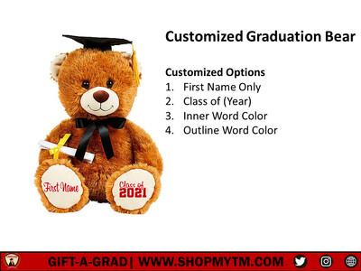 Customized Graduation Bear