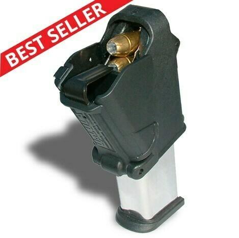 9mm to 45ACP universal pistol mag loader