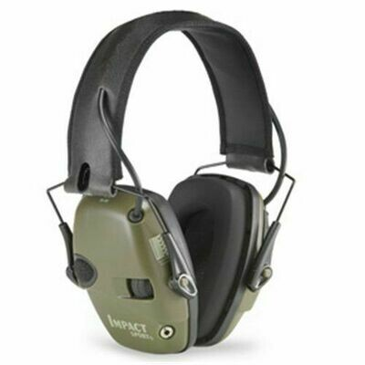 Impact Sport Sound Amplification Electronic Earmuff