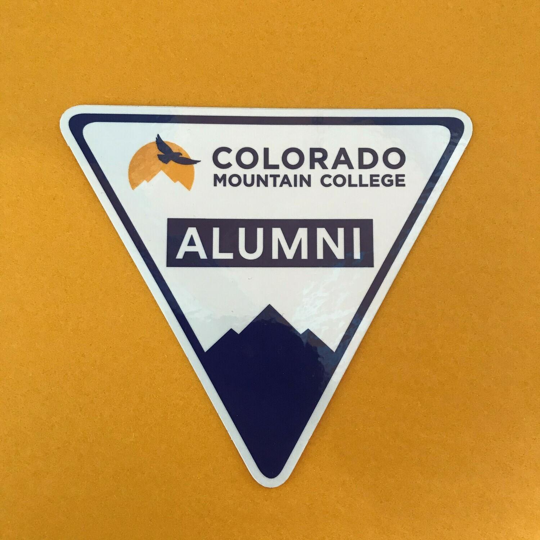 Alumni Triangle Sticker