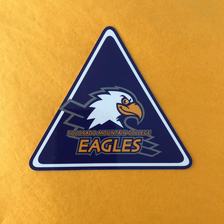 Swoop Triangle Sticker
