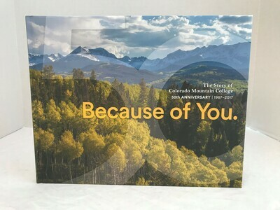 50th Because Of You Book