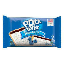 Pop Tarts Frosted Blueberry 2 Pack