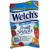 Welch's Fruit Snacks 2.25 oz.