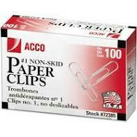 ACCO Paper Clips 100 count