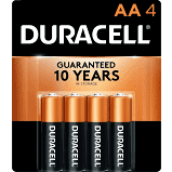 Battery AA 4 Pack Duracell