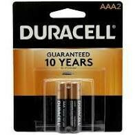 Battery AAA 2 Pack Duracell