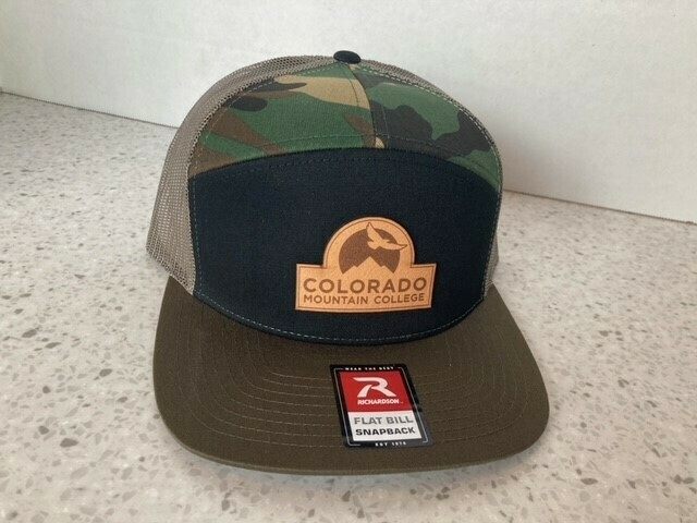 Richardson 7 Panel Hat w/ Leather Patch