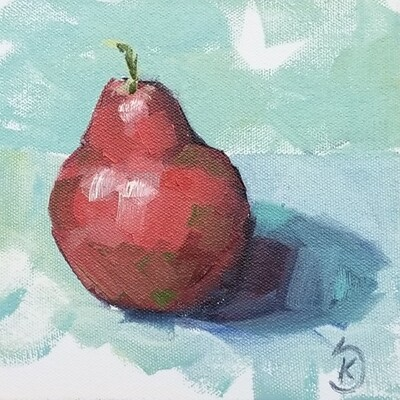 Ruby Red Pear