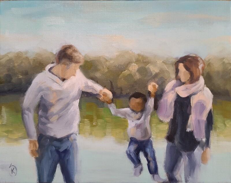 Custom Family Painting
