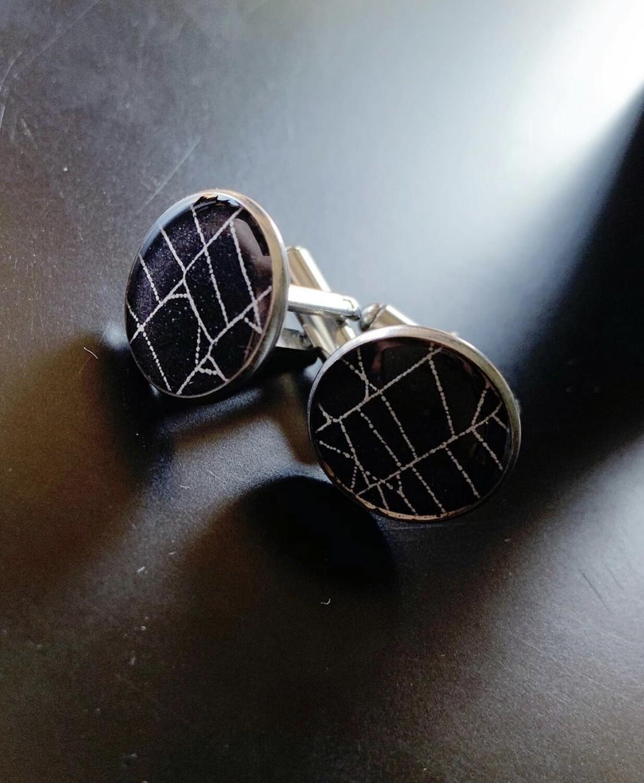 Spiderweb Cufflinks