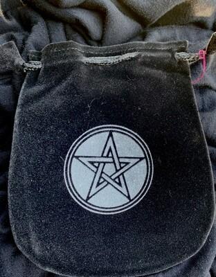 Pentagram Velvet Bag