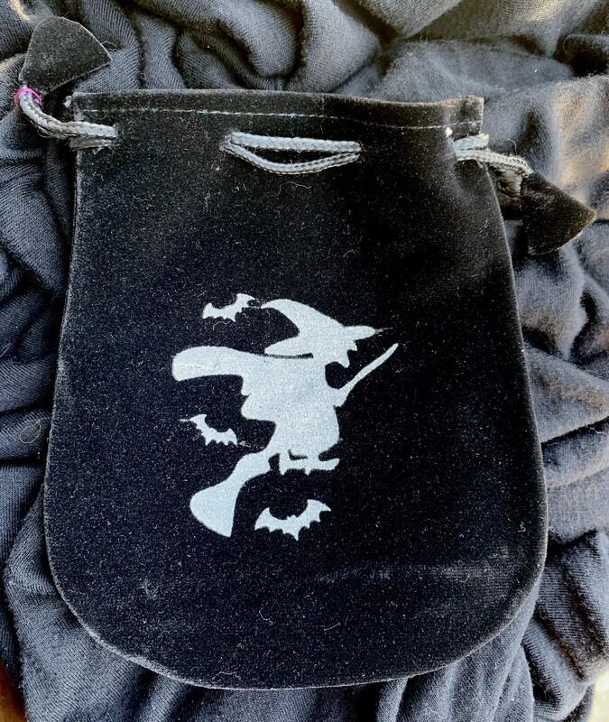 Witch Velvet Bag