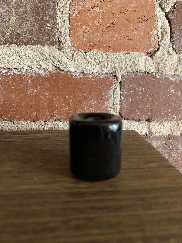 Chime Candleholder - Ceramic Black