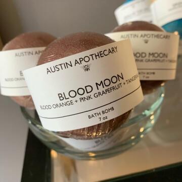 Blood Moon Bath Bomb