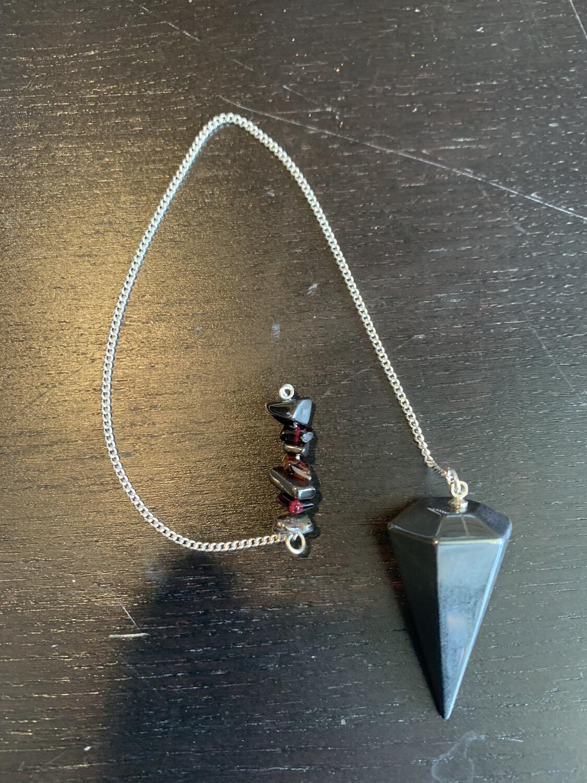 Hematite 1st Chakra Pendulum