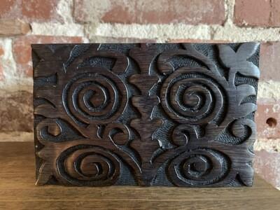 Wooden Box - Black