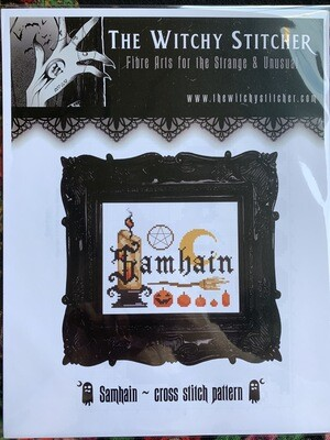 Samhain Cross Stitch Pattern