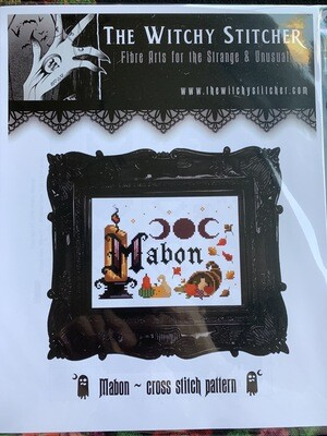 Mabon Cross Stitch Pattern