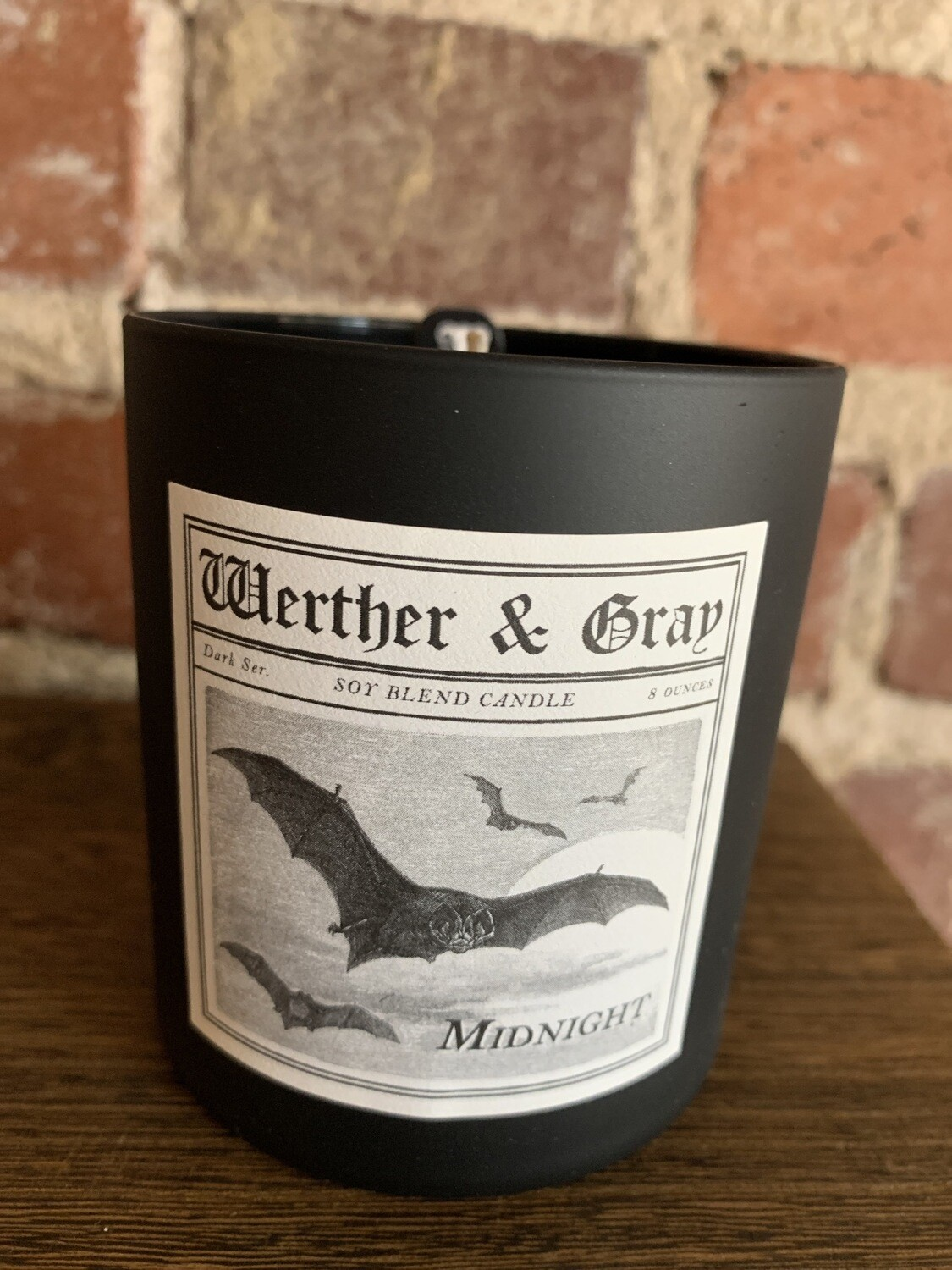 Werther & Gray Midnight Candle