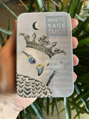 White Sage Tarot Deck