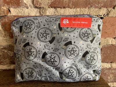 Crystal Ball Zipper Bag