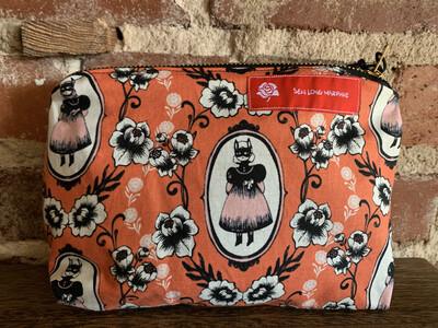 Spooky Little Girl Zipper Bag