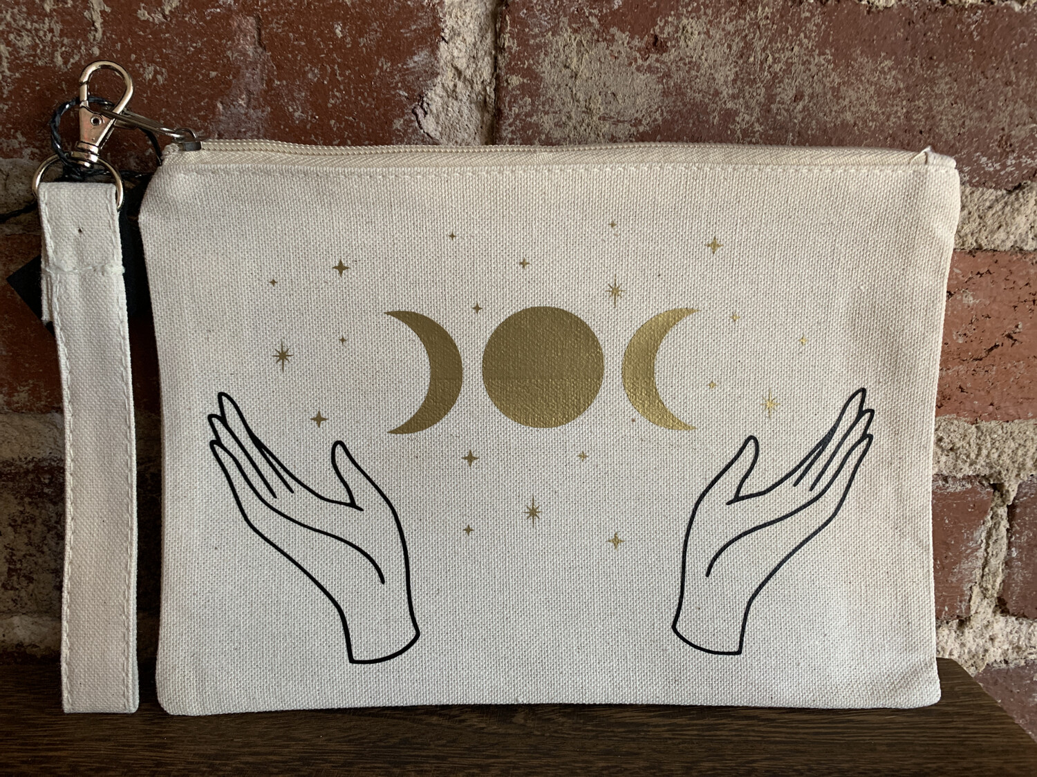 Triple Goddess Zipper Pouch