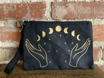 Moon Witch Zipper Pouch