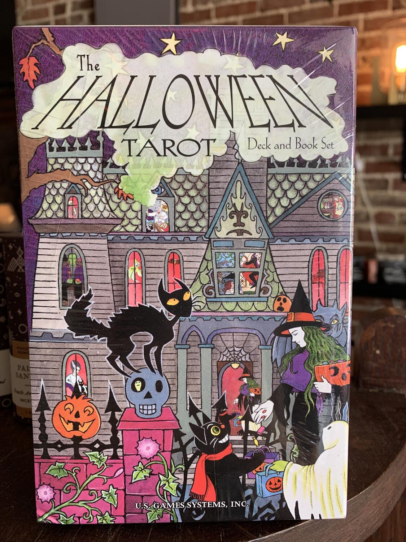 Halloween Tarot Deck & Book