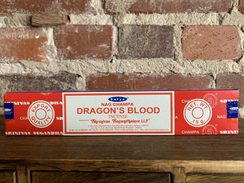 Satya Dragon's Blood Incense