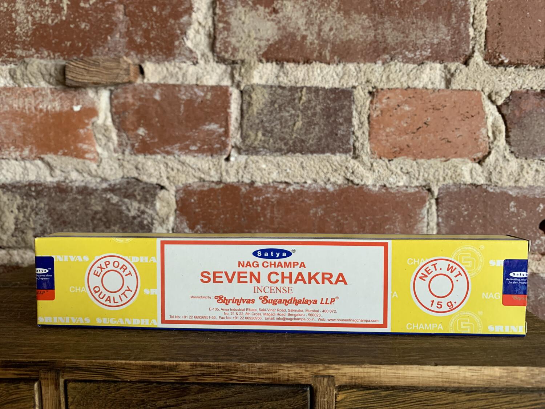 Satya Seven Chakra Incense
