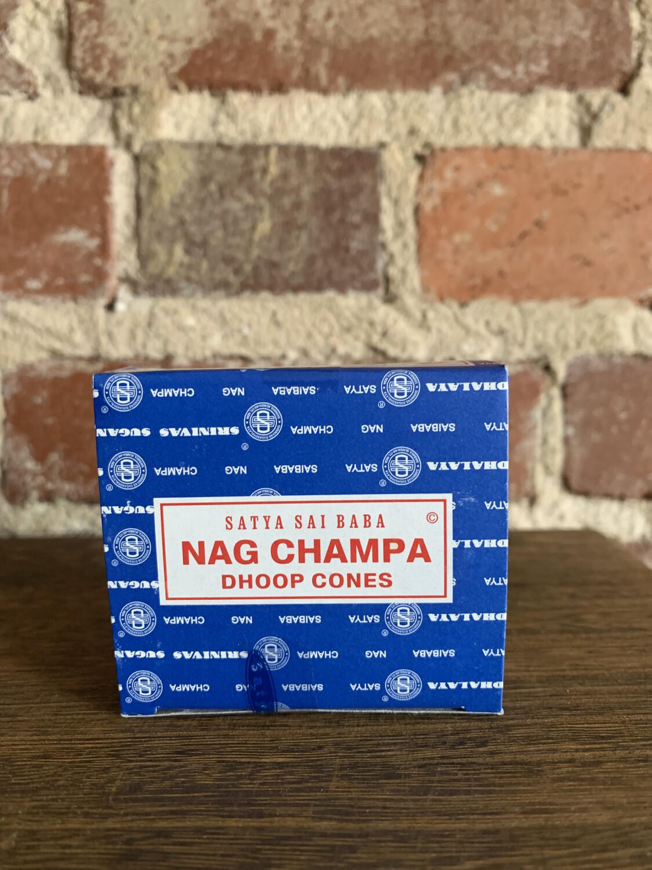 Satya Nag Champa Cones