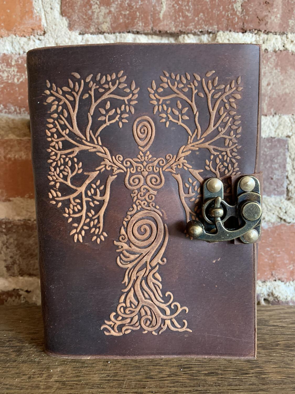Brown Tree Of Life Goddess Journal