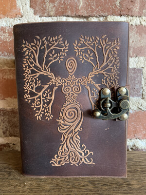 Brown Tree Of Life Goddess Journal