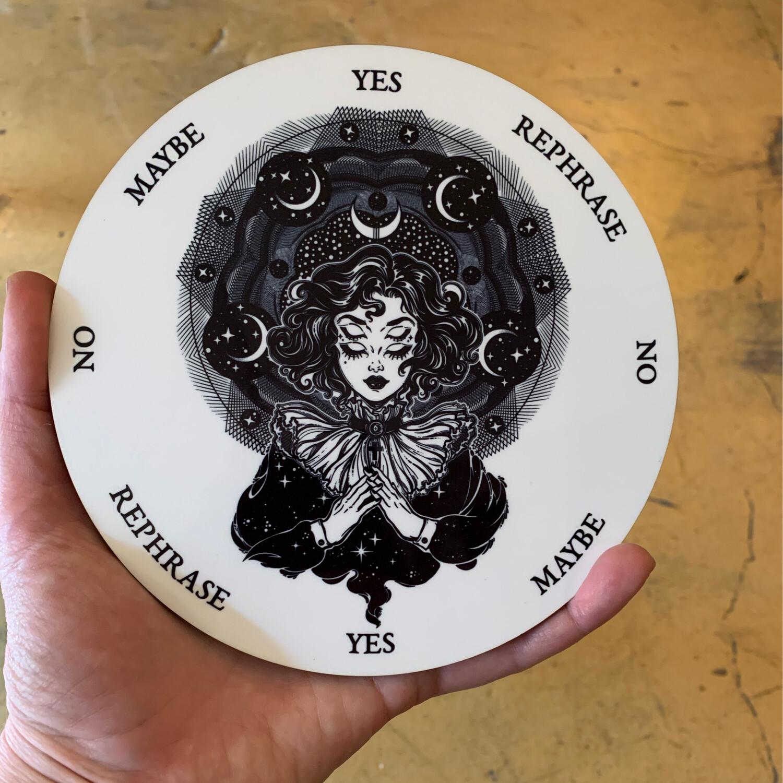 Astral Woman Pendulum Board