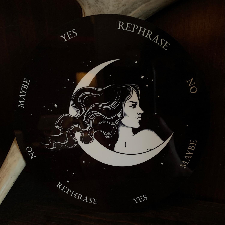 Lady Moon Pendulum Board