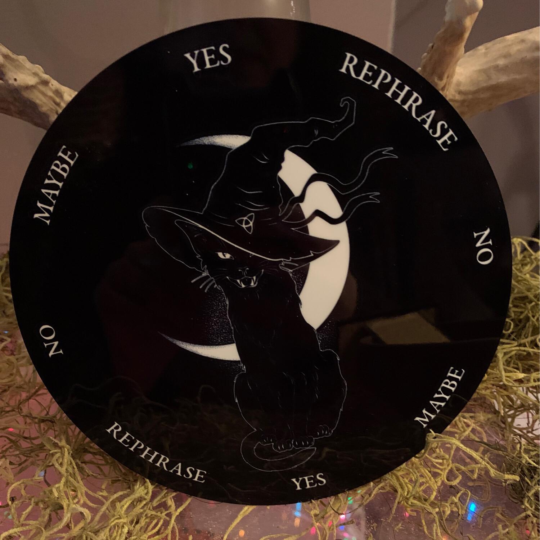 Cat & Moon Pendulum Board