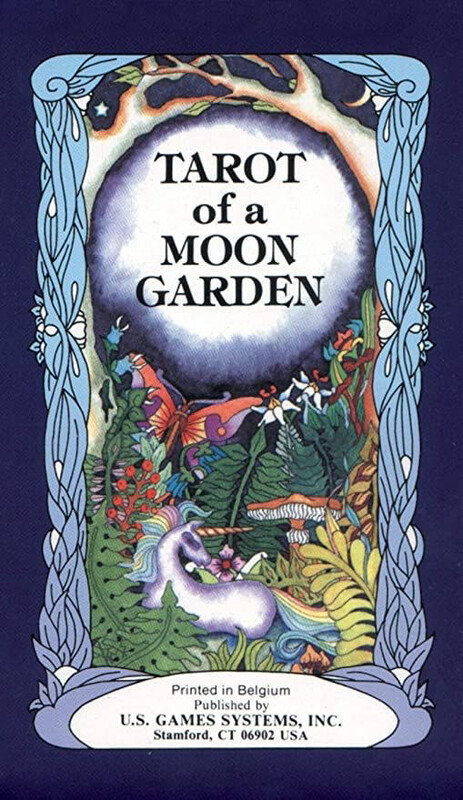 Tarot Of The Moon Garden Tarot