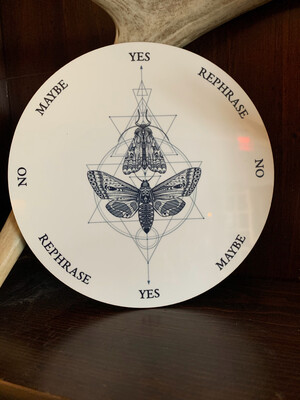 Geometric Moth & Butterfly Pendulum Board