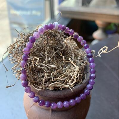 Gemstone Bracelet Lepidolote